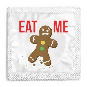 Eat me funny condom