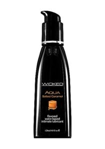 Best flavored lube: Wicked Salted Caramel
