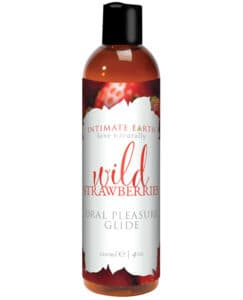 Best flavored lube: wild strawberries