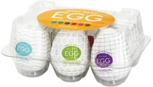 Sex toys for men: Tenga Egg 6 Pack